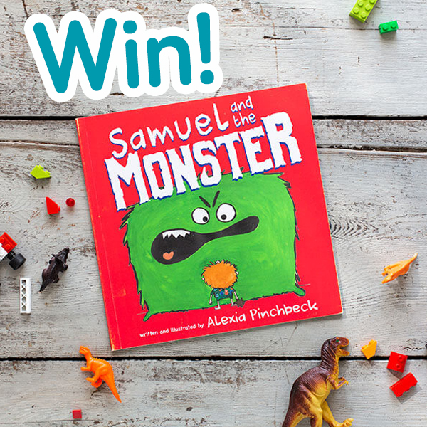 Win 'Samuel and the Monster' children's book  image