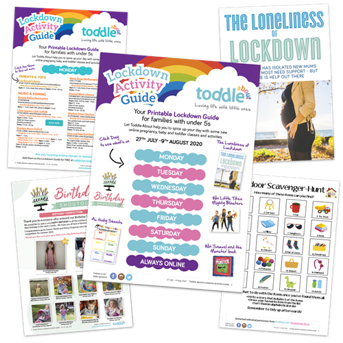 Toddle About Lockdown Activity Guide Issue 5